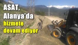 ASAT, Alanya'da hizmete devam ediyor