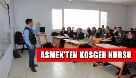 Asmek'ten KOSGEB Kursu