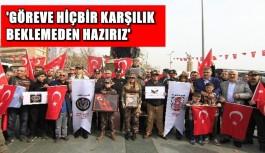 Emekli Özel Harekatçılar'dan Afrin'deki Mehmetçiğe destek