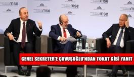 Genel Sekreter'e Çavuşoğlu'ndan tokat gibi yanıt