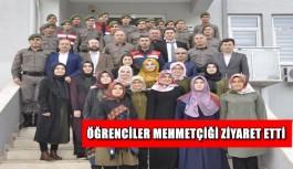 Öğrenciler Mehmetçiği ziyaret etti