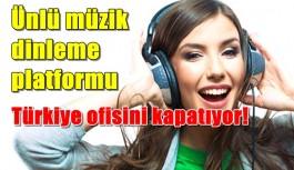 Ünlü şirket Türkiye ofisini kapatıyor