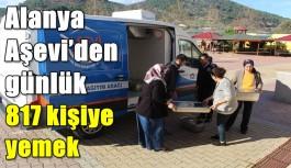 Alanya Aşevi'den günlük 817 kişiye yemek