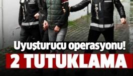 Alanya'da uyuşturucu ticaretine 2 tutuklama