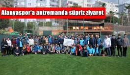 Alanyaspor'da Göztepe maçı hazırlıkları sürüyor