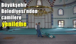 Büyükşehir Belediyesi cami halılarını yeniliyor