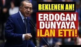 Cumhurbaşkanı Erdoğan ilanı bakınız nasıl duyurdu