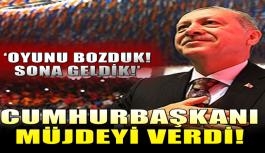 """Erdoğan Diyarbakır'da müjdeyi verdi! """"Oyunu bozduk..."""""""