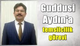 Guddusi Aydın'a temsilcilik görevi