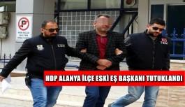 HDP Alanya ilçe eski eş başkanı tutuklandı