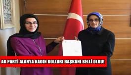 AK Parti Alanya Kadın Kolları Başkanı belli oldu!