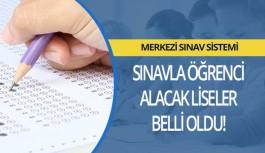 Antalya'da ve Alanya'daki sınavla öğrenci alacak okullar belli oldu!