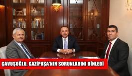Çavuşoğlu, Gazipaşa'nın sorunlarını dinledi