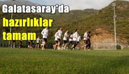 Galatasaray, Alanyaspor maçının hazırlıklarını...