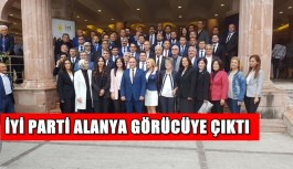 İYİ Parti Alanya görücüye çıktı