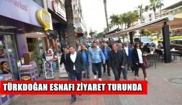 Türkdoğan esnafı ziyaret turunda