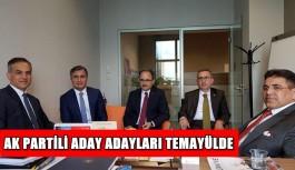AK Partili aday adayları temayülde