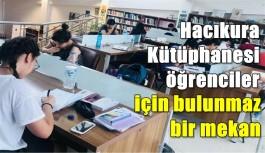 Hacıkura Kütüphanesi öğrenciler için bulunmaz bir mekan