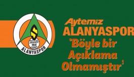 Alanyaspor'dan Emre Akbaba hakkında açıklama!