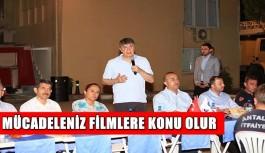 Bakan Çavuşoğlu ve Türel itfaiye erleri ile birlikte sahur yaptı