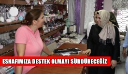'İstikrar sürecek, esnafımız ve Türkiye güçlenecek'