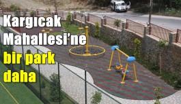 Kargıcak Mahallesi'ne bir park daha