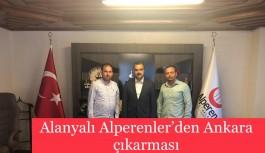 Alanyalı Alperenler'den Ankara çıkarması
