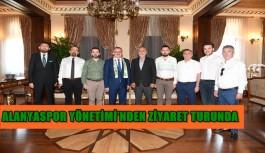 Alanyaspor Yönetimi'nden Antalya protokolüne ziyaret