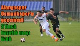 Aytemiz Alanyaspor – Osmanlıspor: 1-2