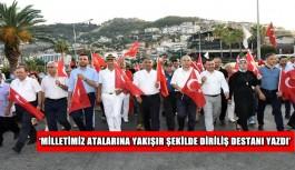 '15 Temmuz'da destan yazan yüce Türk milletine minnettarız'