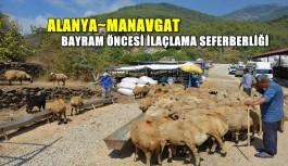 Alanya ve Manavgat'ta bayram öncesi ilaçlama seferberliği