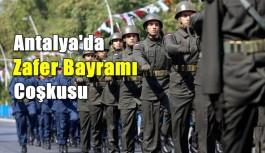 Antalya'da Zafer Bayramı coşkusu