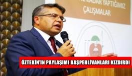 Öztekin'in paylaşımı başpehlivanları kızdırdı