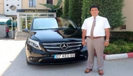 Tasarruf için makam aracını iade etti, kendi parasıyla yeni araç aldı