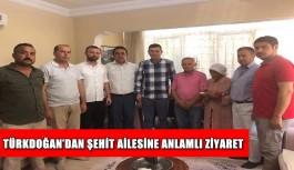 Türkdoğan'dan anlamlı ziyaret
