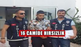 16 CAMİDE HIRSIZLIK