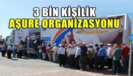 3 Bin kişilik organizasyon