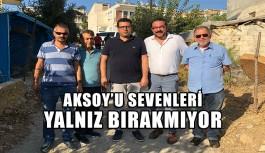 Aksoy'u sevenleri yalnız bırakmıyor