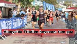 Alanya'da Triatlon heyecanı tam gaz