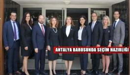 Antalya Barosu'nda seçim hazırlığı