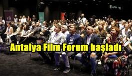 Antalya Film Forum başladı