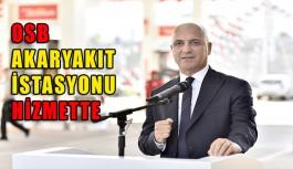 Antalya OSB akaryakıt istasyonu hizmeti...