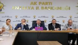 Başkan Toklu, İlçe Başkanları Toplantısına katıldı