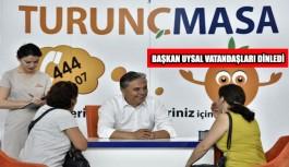 Başkan Uysal, vatandaşları dinledi