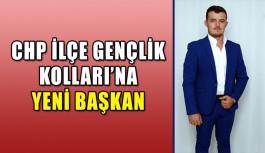 CHP İlçe Gençlik Kolları'na yeni başkan