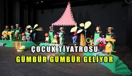 Çocuk Tiyatrosu gümbür gümbür geliyor