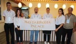 Haydarpasha Palace Hotel'e ikram teşekkürü