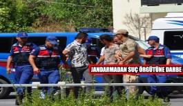Jandarmadan suç örgütüne darbe