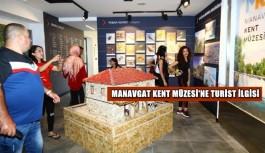Manavgat Kent Müzesi'ne turist ilgisi
