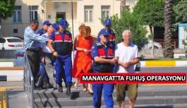 Manavgat'ta fuhuş baskını